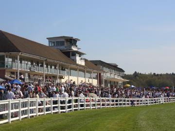 Crowds at Lingfield Park